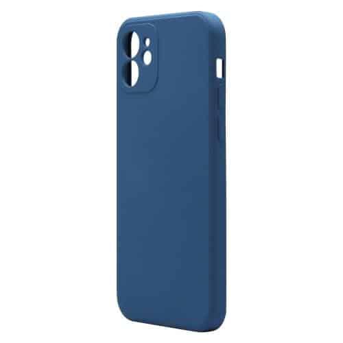 Liquid Silicon inos Apple iPhone 12 L-Cover Blue Raf