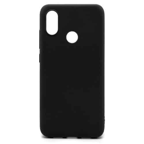 Soft TPU inos Xiaomi Mi 8 S-Cover Black