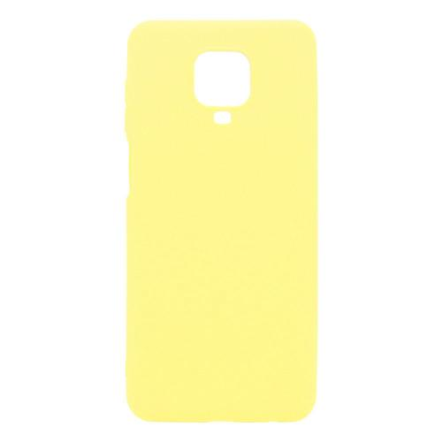 Soft TPU inos Xiaomi Redmi Note 9S S-Cover Yellow