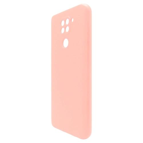 Θήκη Liquid Silicon inos Xiaomi Redmi Note 9 L-Cover Σομόν