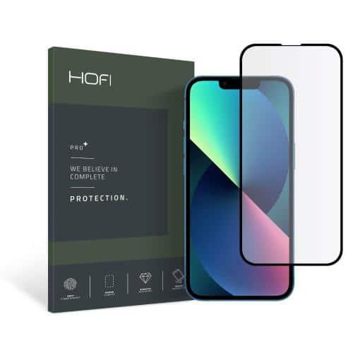 Tempered Glass Full Face Hofi Pro+ Apple iPhone 13 mini Μαύρο (1 τεμ.)
