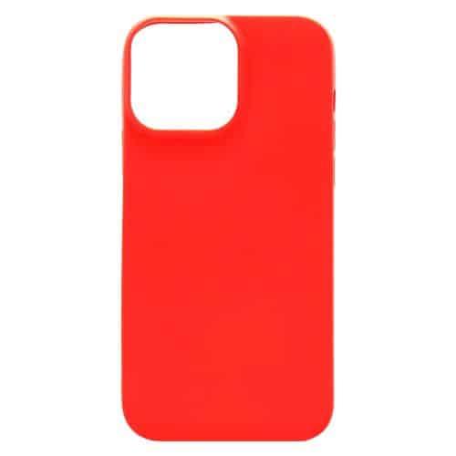 Θήκη Soft TPU inos Apple iPhone 13 Pro Max S-Cover Κόκκινο
