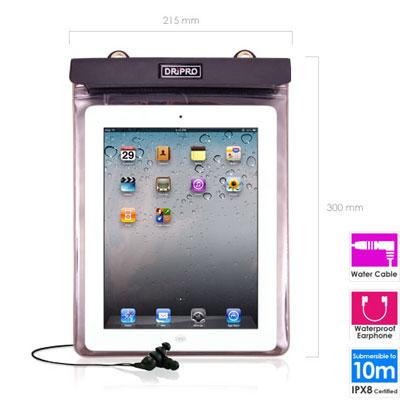 Waterproof Θήκη Dripro IPX8 Certified για Tablet 9''-10'' Διαστάσεων έως 250x190mm