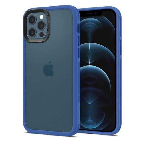 Soft TPU & PC Case Spigen Cyrill Color Brick Apple iPhone 12/ 12 Pro Linen Blue