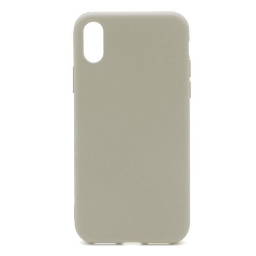 Soft TPU inos Apple iPhone XS Max S-Cover Grey