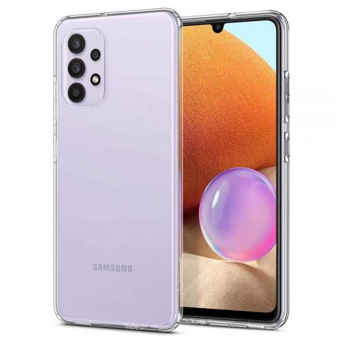 TPU Spigen Liquid Crystal Case Samsung A325F Galaxy A32 4G Crystal Clear