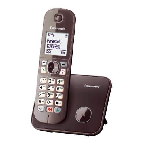 Dect Panasonic KX-TG6851 Brown