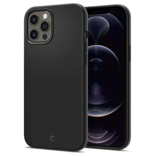 Θήκη Σιλικόνης Spigen Cyrill Apple iPhone 12/ 12 Pro Μαύρο