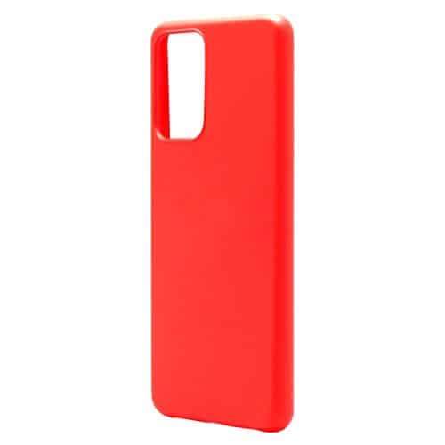 Liquid Silicon inos Samsung A525F Galaxy A52/ A526B Galaxy A52 5G/ A528B Galaxy A52s 5G L-Cover Hot Red