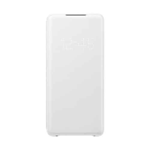 Flip Led View Cover Samsung EF-NG985PWEG G985 Galaxy S20 Plus White