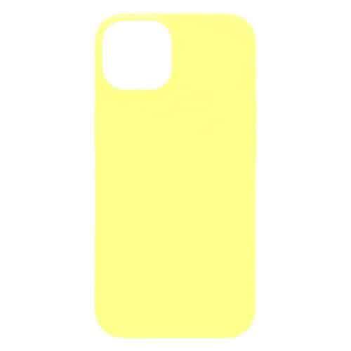 Θήκη Soft TPU inos Apple iPhone 13 S-Cover Κίτρινο
