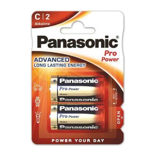 Battery Alkaline Pro Power Panasonic C LR14 (2 pcs.)