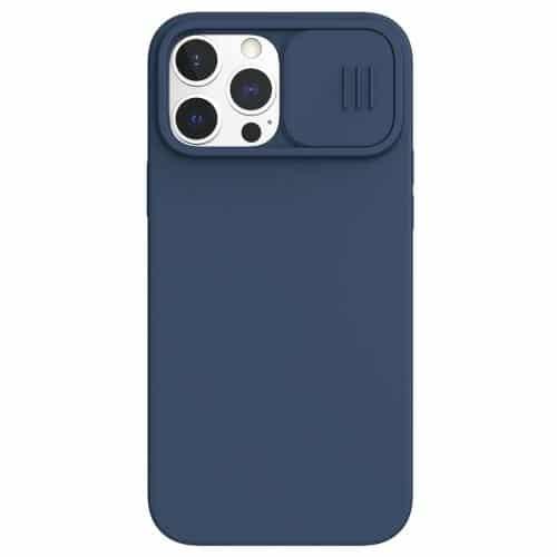 Θήκη Σιλικόνης Nillkin Camshield Apple iPhone 13 Pro Max Μπλε