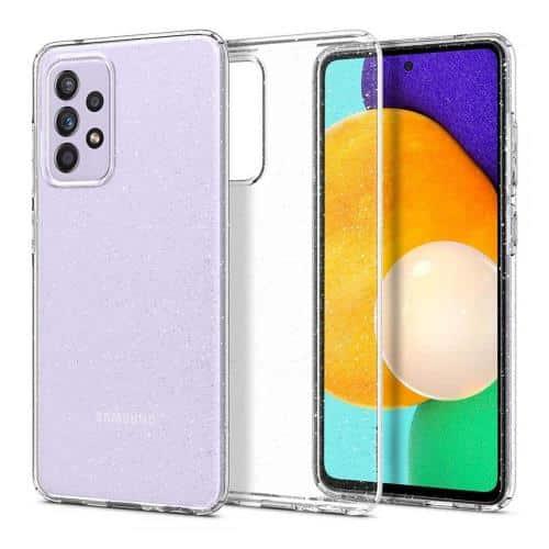 TPU Spigen Liquid Crystal Case Samsung A725F Galaxy A72 4G/ A726B Galaxy A72 5G Glitter Crystal Quartz