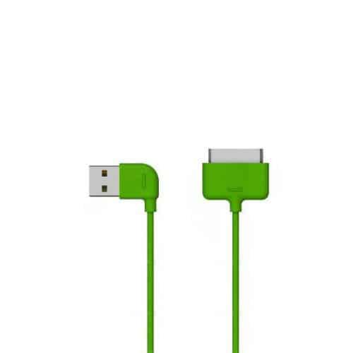Καλώδιο Σύνδεσης USB 2.0 Osungo USB A σε Apple 30-pin 1m Πράσινο