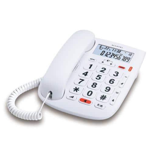 Land Line Phone Alcatel TMAX 20 White