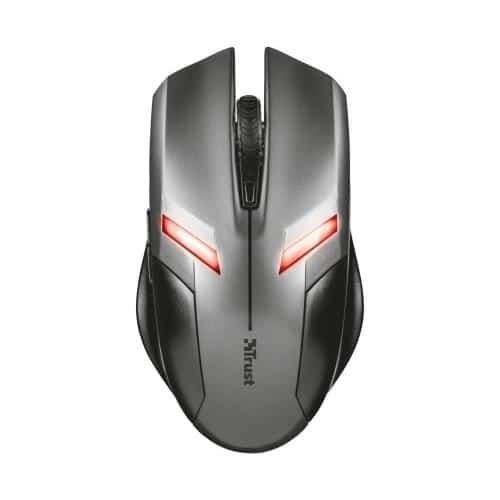 Ενσύρματο Ποντίκι Trust Ziva Gaming Ανθρακί