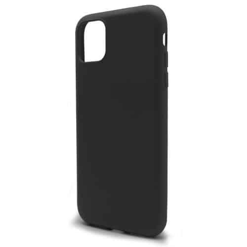 Θήκη Liquid Silicon inos Apple iPhone 11 Pro L-Cover Μαύρο