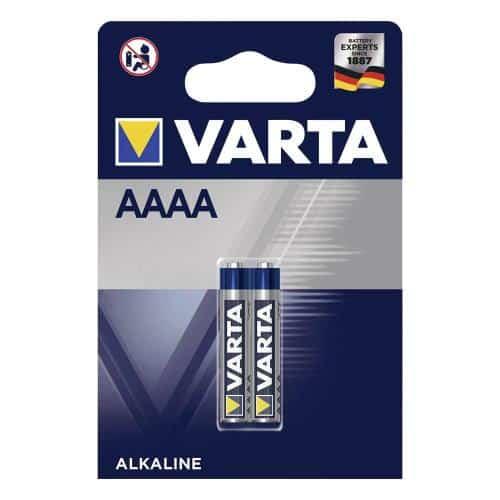 Μπαταρία Alkaline Varta AAAA LR61 (2 τεμ.)