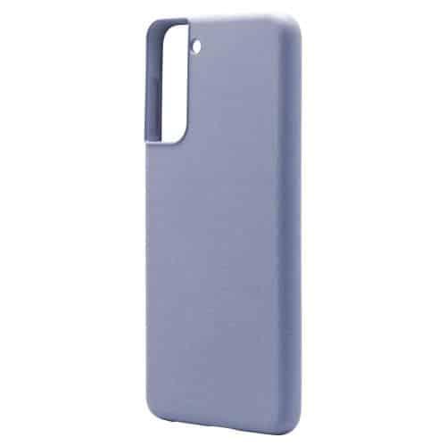 Θήκη Liquid Silicon inos Samsung G991B Galaxy S21 5G L-Cover Γκρι-Μπλε