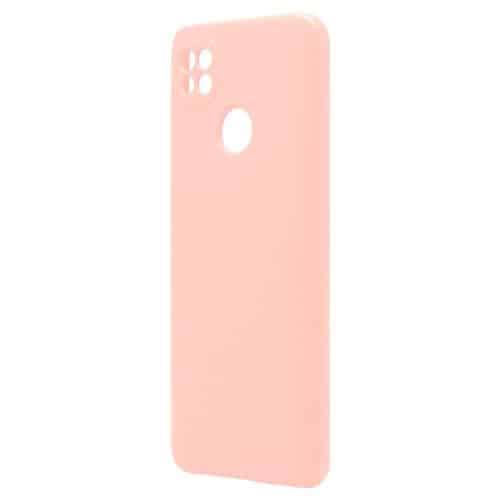 Θήκη Liquid Silicon inos Xiaomi Redmi 9C L-Cover Σομόν