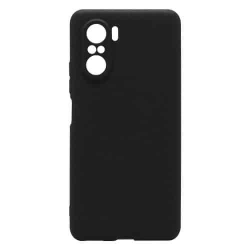 Θήκη Soft TPU inos Xiaomi Poco F3/ Mi 11i S-Cover Μαύρο