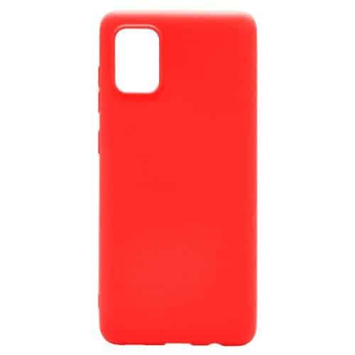 Soft TPU inos Samsung A315F Galaxy A31 S-Cover Red