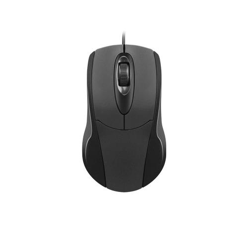 Ενσύρματο Ποντίκι Natec Ruff NMY-0877 Μαύρο