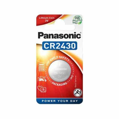 Lithium Button Cells Panasonic CR2430 (1 pc)