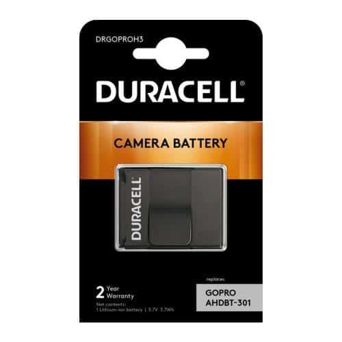 Μπαταρία Κάμερας Duracell GoPro Hero3 3.7V 1000mAh (1 τεμ)