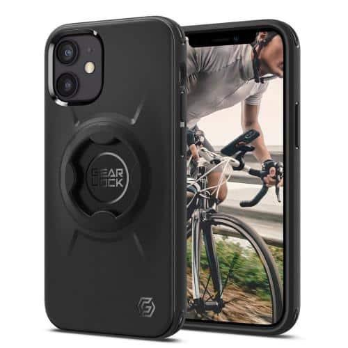 Θήκη TPU & PC Spigen Gearlock GCF133 for Bike Holder MF100/ MS100 Apple iPhone 12 mini Μαύρο