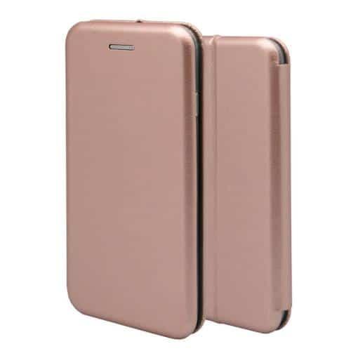 Θήκη Flip Book inos Apple iPhone 11 Pro Max Curved M-Folio Ροζ-Χρυσό