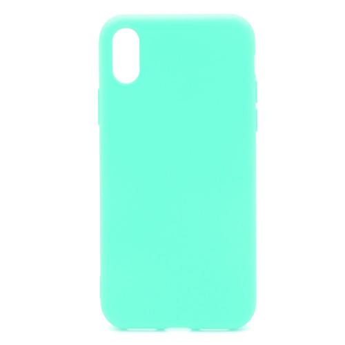Soft TPU inos Apple iPhone XS Max S-Cover Mint Green