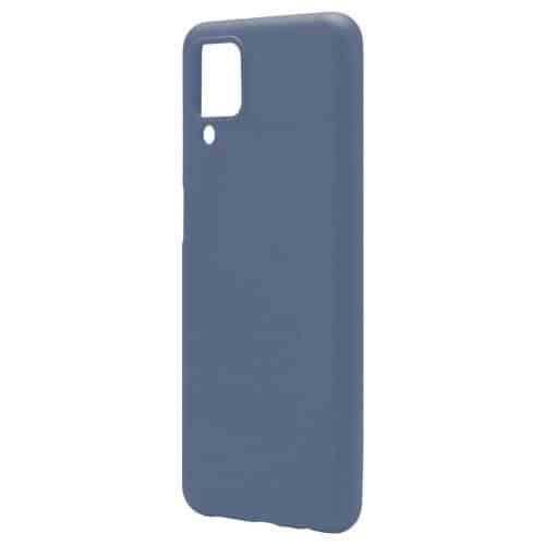 Θήκη Liquid Silicon inos Samsung A125F Galaxy A12 L-Cover Μπλε Ραφ
