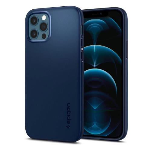 TPU Case Spigen Thin Fit Apple iPhone 12/ 12 Pro Navy Blue