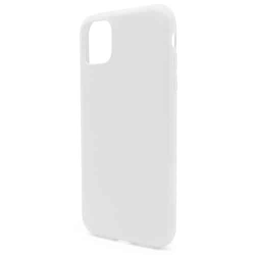 Liquid Silicon inos Apple iPhone 11 Pro L-Cover Powder White