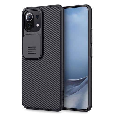 Θήκη Soft TPU & PC Nillkin Camshield Xiaomi Mi 11 Lite 4G/ 5G Μαύρο