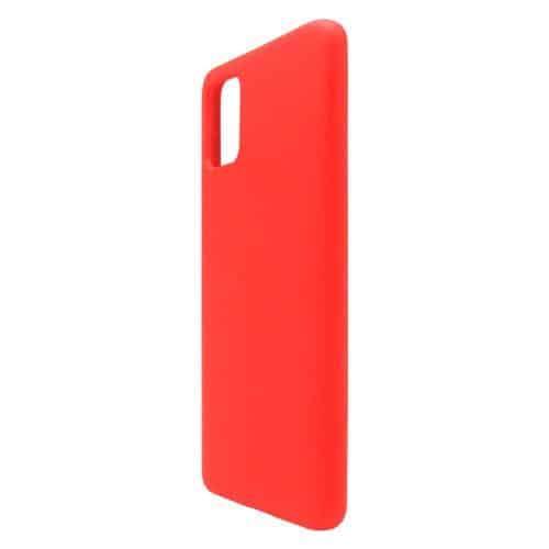 Liquid Silicon inos Samsung A515F Galaxy A51 L-Cover Hot Red