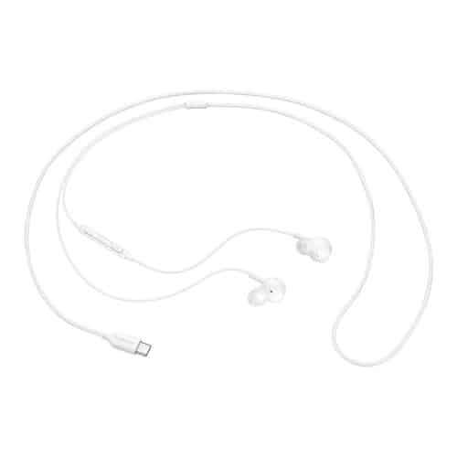 Hands Free Stereo Samsung EO-IC100BWEG USB C Λευκό