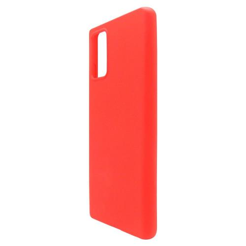 Liquid Silicon inos Samsung N980F Galaxy Note 20 L-Cover Hot Red