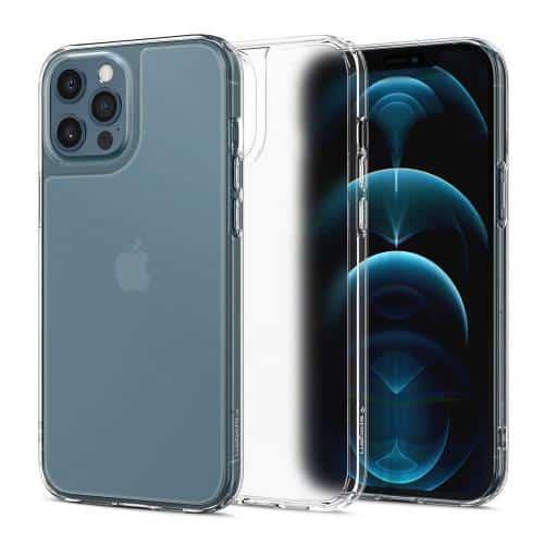 Θήκη TPU & PC Spigen Quartz Hybrid Apple iPhone 12 Pro Max Διάφανο