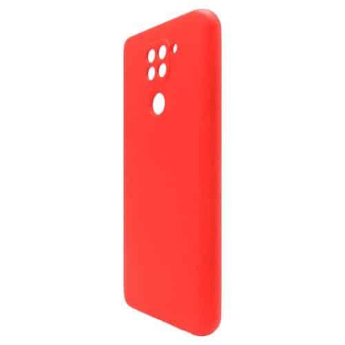 Liquid Silicon inos Xiaomi Redmi Note 9 L-Cover Hot Red