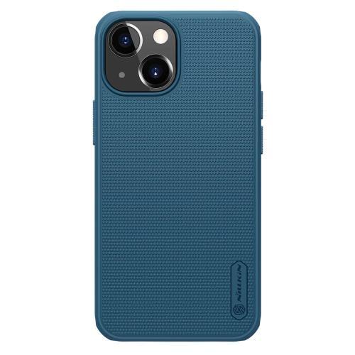 Soft TPU & PC Back Cover Case Nillkin Super Frosted Shield Pro Apple iPhone 13 mini Blue