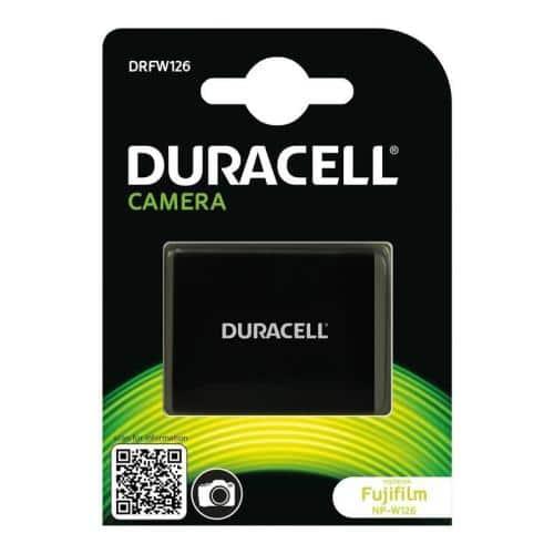 Camera Battery Duracell DRFW126 for Fujifilm NP-W126 7.4V 1140mAh (1 pc)
