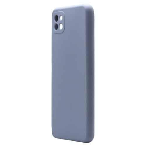Liquid Silicon inos Samsung A226B Galaxy A22 5G L-Cover Blueberry
