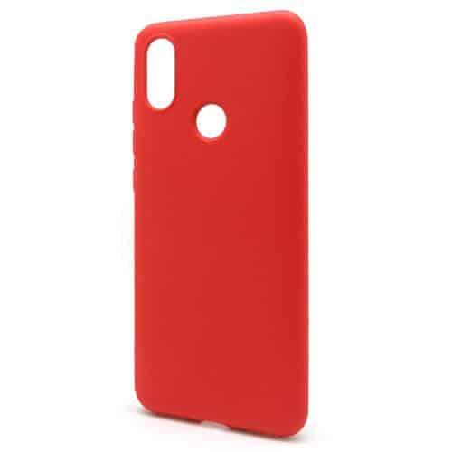 Liquid Silicon inos Xiaomi Redmi Note 6 Pro L-Cover Hot Red
