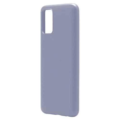 Θήκη Liquid Silicon inos Samsung A025F Galaxy A02s L-Cover Γκρι-Μπλε