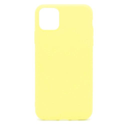 Soft TPU inos Apple iPhone 11 S-Cover Yellow