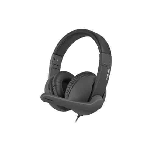 Headset Stereo Natec Rhea NSL-1452 Black