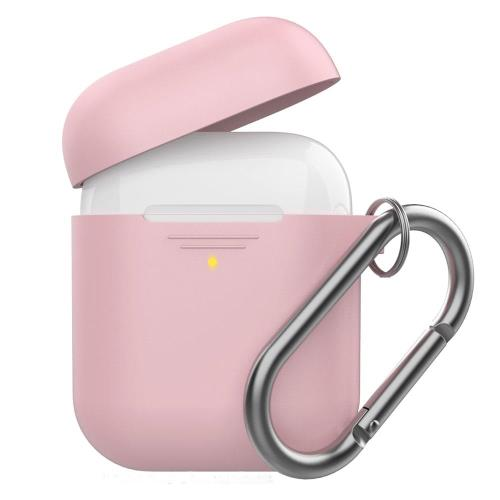 Silicon Case AhaStyle PT06-F Apple AirPods Premium with Hook Pink